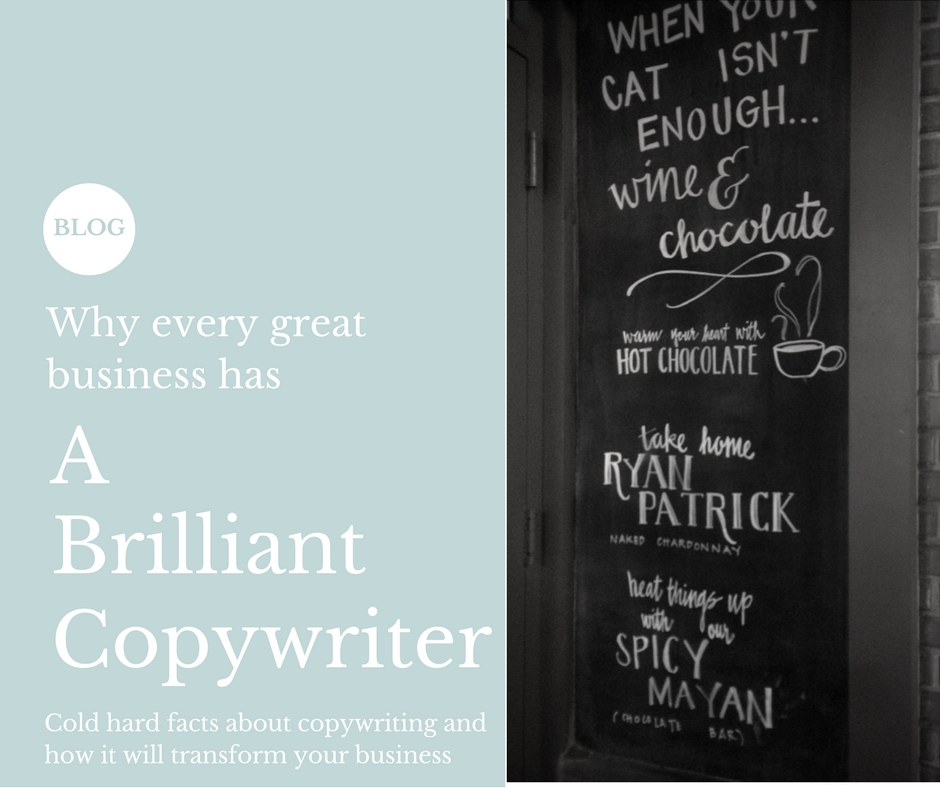 Why every great business has a brilliant copywriter.